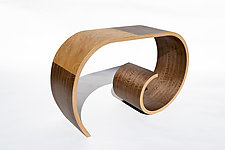 Low Crocus Table by Kino Guerin (Wood Console Table)