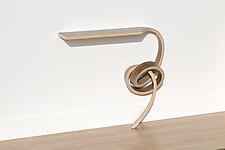 Vertigo Table by Kino Guerin (Wood Wall Table)