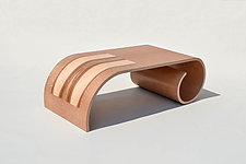 Small Toboggan Table by Kino Guerin (Wood Coffee Table)