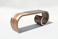 Toboggan Bench by Kino Guerin (Wood Bench)