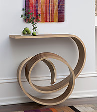 Nebula Table by Kino Guerin (Wood Console Table)