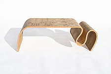 Crazy Carpet Table by Kino Guerin (Wood Coffee Table)