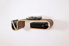 Stereo Shelf by Kino Guerin (Wood Shelf)