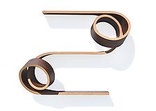 Mini Double Twist by Kino Guerin (Wood Shelf)