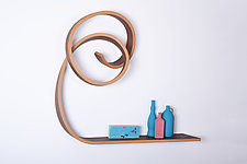 Nebula Shelf by Kino Guerin (Wood Wall Shelf)