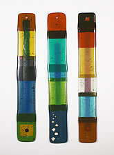 Color Flats by Nina  Cambron (Art Glass Wall Sculpture)