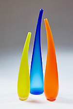 Time Together II by Christopher Jeffries (Art Glass Sculpture)