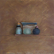 Bronze Still Life 73 by Jack McLean and Alice McLean (Metal Wall Sculpture)
