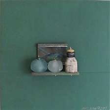 Bronze Still Life 76 by Jack McLean and Alice McLean (Metal Wall Sculpture)
