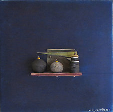 Bronze Still Life 77 by Jack McLean and Alice McLean (Metal Wall Sculpture)