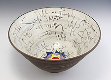 Family Bowl by Noelle VanHendrick and Eric Hendrick (Ceramic Bowl)
