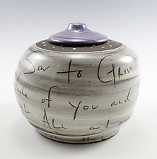 Dream Jar by Noelle VanHendrick and Eric Hendrick (Ceramic Vessel)