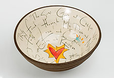 Celebration Bowl by Noelle VanHendrick and Eric Hendrick (Ceramic Bowl)