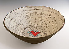 Friendship Bowl by Noelle VanHendrick and Eric Hendrick (Ceramic Bowl)