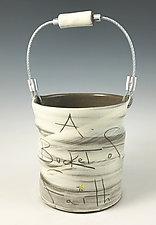 Bucket of Faith by Noelle VanHendrick and Eric Hendrick (Ceramic Vessel)