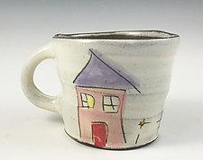 Home Mug by Noelle VanHendrick and Eric Hendrick (Ceramic Mug)