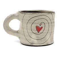 I Choose Love Mug by Noelle VanHendrick and Eric Hendrick (Ceramic Mug)