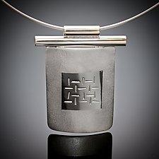 Thai Pendant by Karen Klinefelter (Silver Necklace)