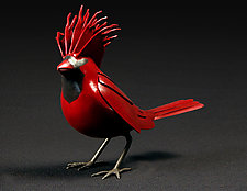 Don King Cardinal by Charles McBride White (Metal Sculpture)
