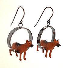 Shepherd Earrings by Kristin Lora (Silver Earrings)