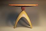 Elemental Balance by Derek Secor Davis (Wood Console Table)