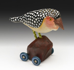 Barbet by Dona Dalton (Wood Sculpture)
