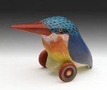 Kingfisher Collection by Dona Dalton (Wood Sculpture)