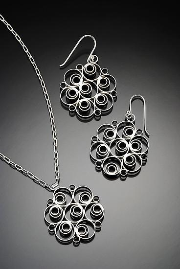Fizzy Pendant and Earrings