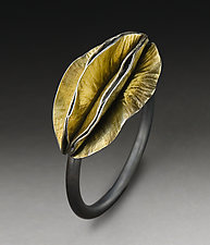 Cluster Ring by Peg Fetter (Gold & Silver Ring)