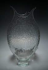Clear Millefiori Foglio by David Patchen (Art Glass Vessel)