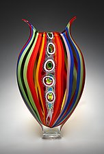 Jazz Foglio by David Patchen (Art Glass Vessel)