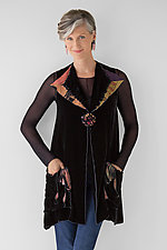 Loopy Vest by Giselle Shepatin  (Velvet Vest)