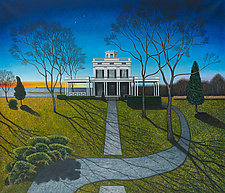 Big House, Homage to America by Scott Kahn (Giclée Print)