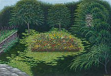 Jan and Judy's Garden by Scott Kahn (Giclee Print)