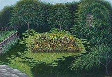 Jan and Judy's Garden by Scott Kahn (Giclee Print)