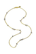 Simple Chain by Lisa Jane Grant (Silver & Gold Necklace)