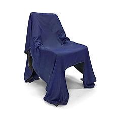 Specter Chair Deep Purple Prototype by Josh Urso (Fiber Chair)
