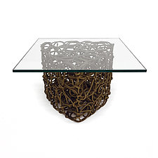 Knoop Spade Table by Josh Urso (Fiber Coffee Table)