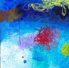 Out of the Blue 1 by Katherine Greene (Acrylic Painting)