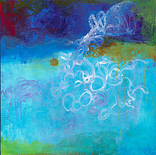Out of the Blue 2 by Katherine Greene (Acrylic Painting)