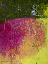 Marking Time II by Katherine Greene (Acrylic Painting)