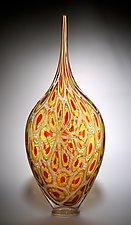 Sunset Resistenza by David Patchen (Art Glass Vessel)