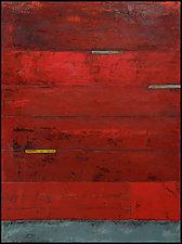 Pompeii 1 by Graceann Warn (Encaustic Painting)