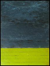 Tempest 1 by Graceann Warn (Encaustic Painting)