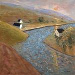 Skyler River Bend by Robert Ferrucci (Giclée Print)