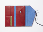 String Wallet - Large by Jutta Neumann  (Leather Wallet)