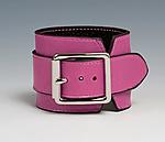 Wide Leather Cuff by Jutta Neumann  (Leather Cuff)