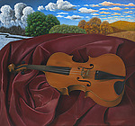 The Violin by Scott Kahn (Giclee Print)