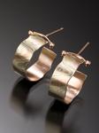Cali Mini Hoop by Lisa Jane Grant (Gold & Silver Earrings)