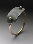 Plate Ring by Peg Fetter (Gold Ring)